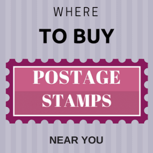 Places To Buy Postage Stamps Near Me